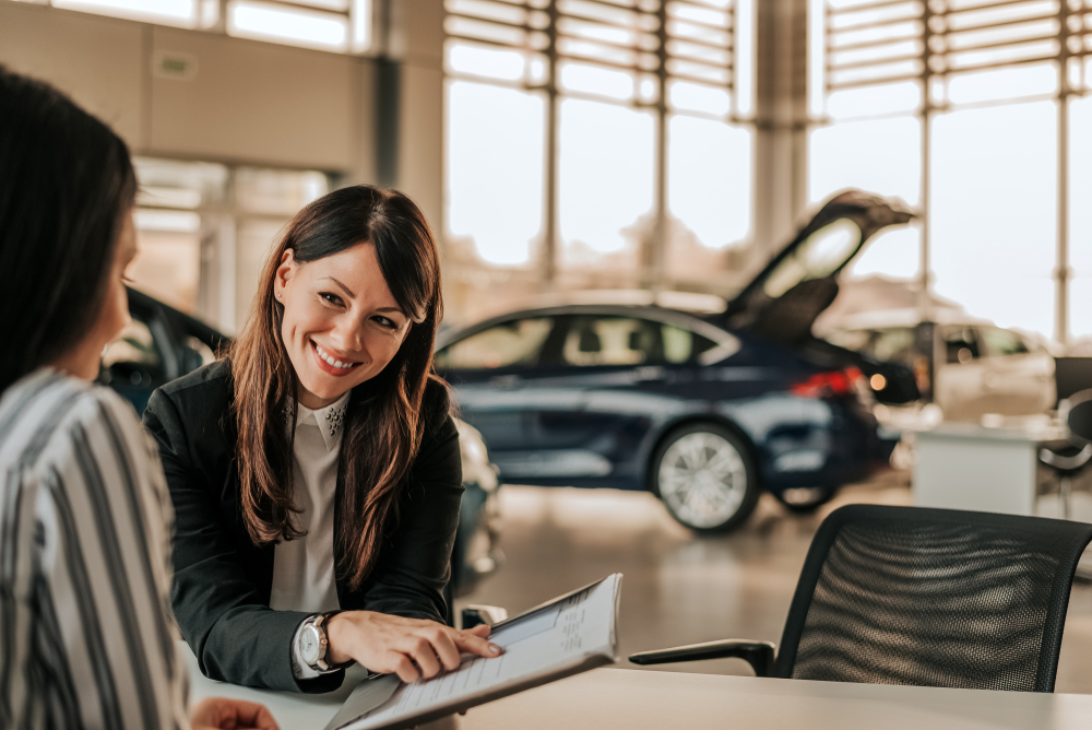 don't want to sell your car from home? take it to a dealer instead